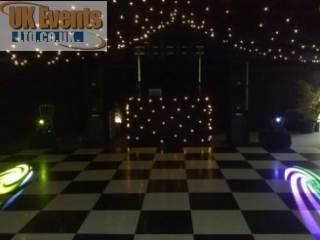 Marquee Birthday Disco in Blackburn