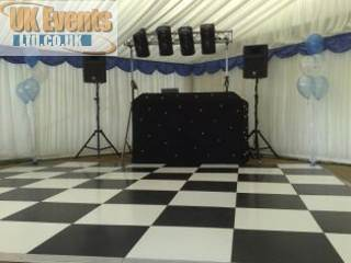 marquee wedding floor