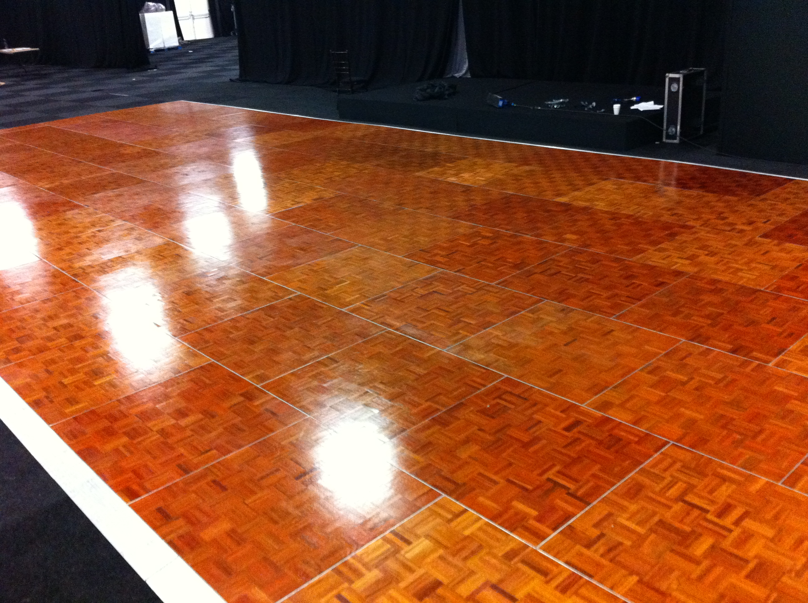 pure wood JATOBA HARDWOOD oak sprung portable dancefloors