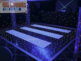 pea light dance floor Hire