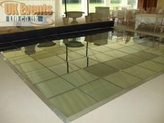 Mirrored floor