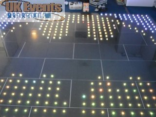 multi light dance floor rental