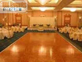 Oak Parquet Dance Floor Hire