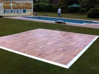 Corporate wooden dance floor oak parquet