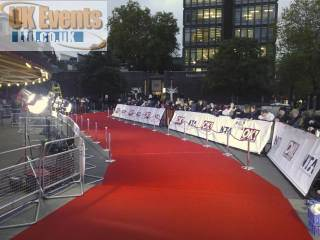 VIP Red Carpet hire.
