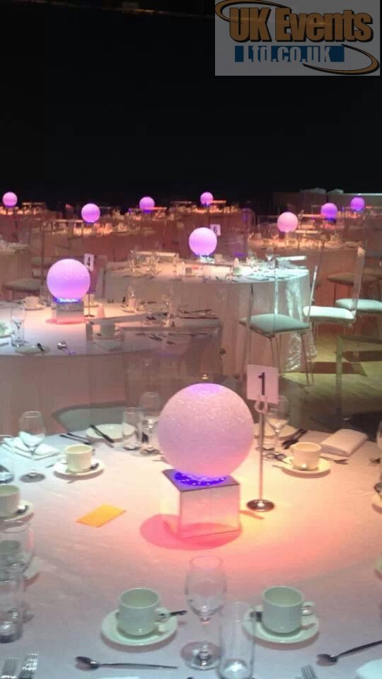 coloured globes