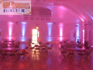 Gwent LED uplighter hire