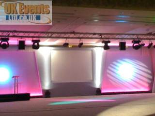 LED uplighters and room lighting