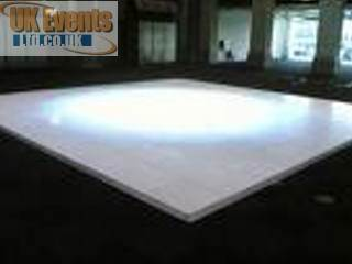 White Wedding Floor