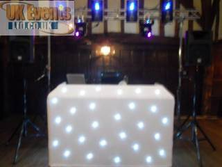 Disco hire for birthday and wedding functions